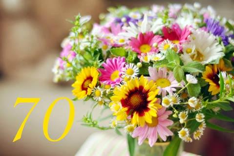 Geburtstagseinladung zum 70. Geburtstag