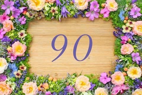 Einladungen Zum 90. Geburtstag